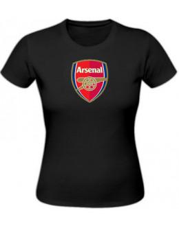 Dámske tričko Arsenal Londýn - čierne