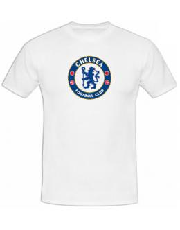 Tričko Chelsea Londýn - biele