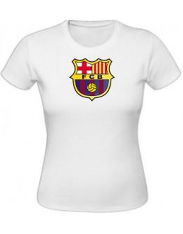 Dámske tričko Fc Barcelona - biele