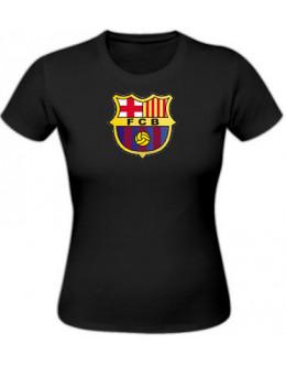 Dámske tričko Fc Barcelona - čierne