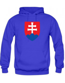 Mikina Slovensko - modra