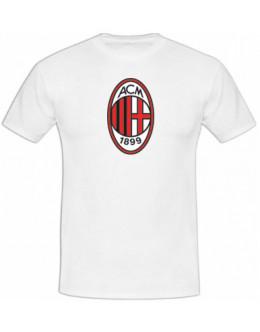 Tričko AC Miláno - biele