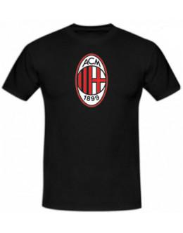 Tričko AC Miláno - čierne