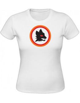 Dámske tričko AS Rím - biele