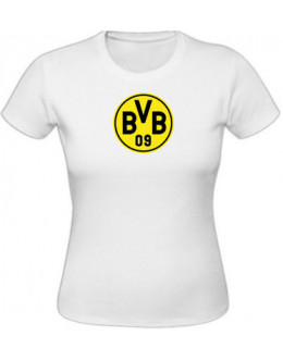 Dámske tričko Borussia Dortmund - biele