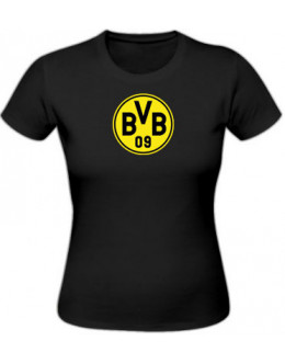 Dámske tričko Borussia Dortmund - čierne