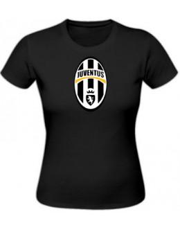 Dámske tričko Juventus Turín - čierne