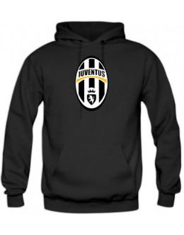 Mikina Juventus Turín - čierna