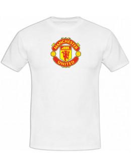 Tričko Manchester United - biele