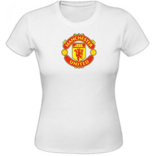 4bbbc3727a1d Dámske tričko Manchester United - biele