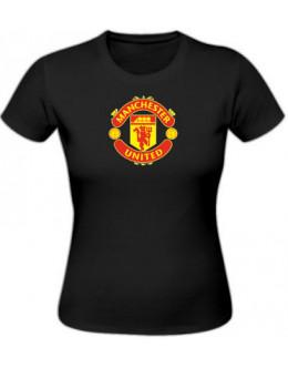 Dámske tričko Manchester United - čierne