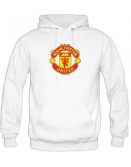Mikina Manchester United - biela