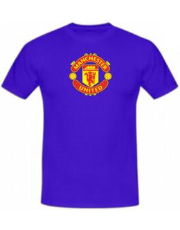 Tričko Manchester United - modré