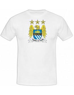 Tričko Manchester City - biele