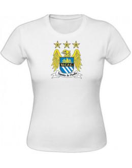 Dámske tričko Manchester City - biele