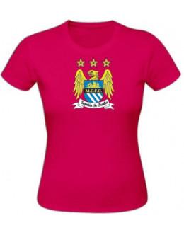 Dámske tričko Manchester City - sorbet