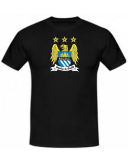 Tričko Manchester City - čierne