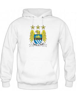 Mikina Manchester City - biela