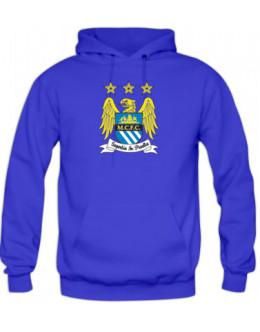 Mikina Manchester City - modrá
