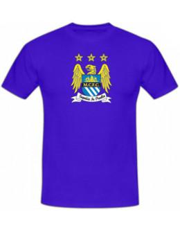 Tričko Manchester City - modré