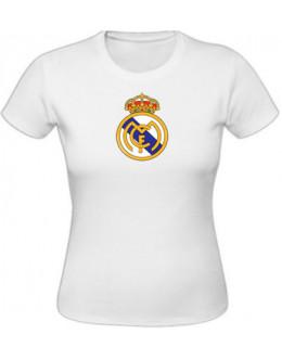 Dámske tričko Real Madrid - biele