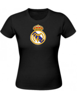 Dámske tričko Real Madrid - čierne
