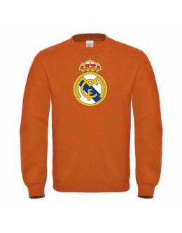 Mikina Real Madrid - oranžová